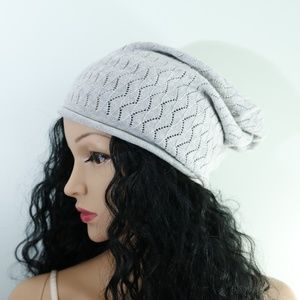 Calvin Klein - Thin Gray Beanie Hat